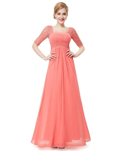 the dress beauty lace square neckline long prom evening dress