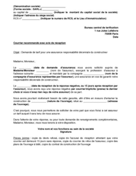 Exemple Lettre De Motivation Garantie Modele Mise En Demeure Garantie Decennale Document