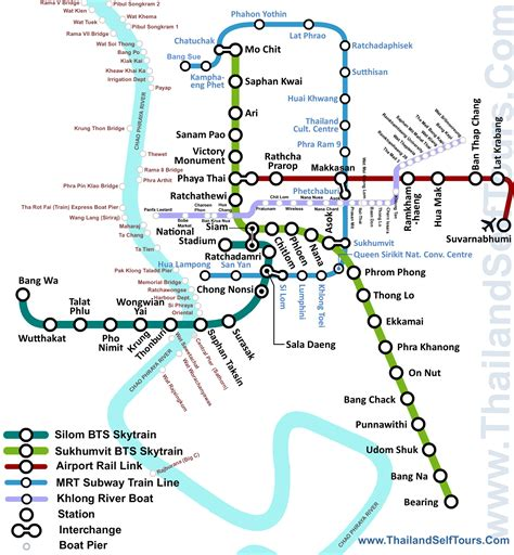 bangkok transport map