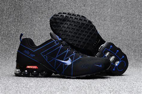 new year shoes 2018 high quality nike air ultra max 2018 5 shox black navy