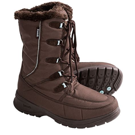winter boots kamik winter boots waterproof for