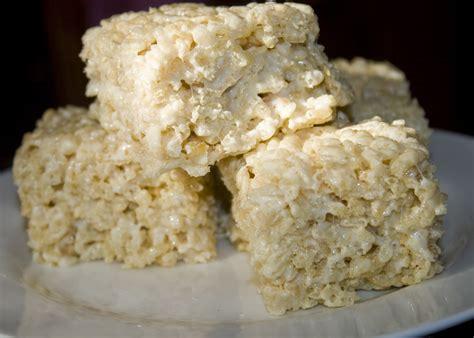 Crunchy Rice Crispy rice crispy treats bakerlady