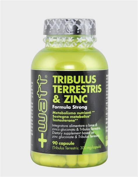 Suplemen Tribulus Tribulus Terrestris Zinc By Watt 90 Capsules 22 40