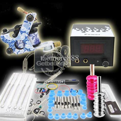 tattoo kit hs code starter 1 tattoo machine gun grips needles power kit set