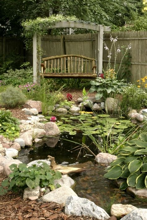 amazing backyard pond design ideas