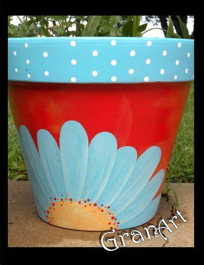 Painting Garden Pots Ideas Best 25 Painting Clay Pots Ideas On Painted Clay Pots Painting Pots And Clay Pots