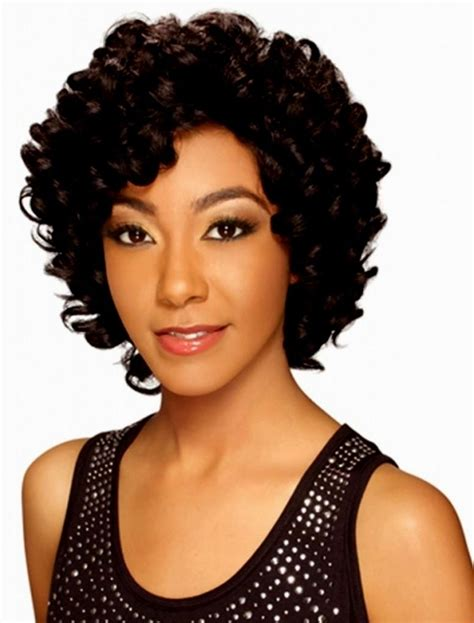pictures of short weavons sew in hairstyles curly hairstyles