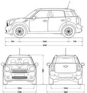 Mini Cooper Interior Dimensions Dimensioni Mini Countryman Prezzi E Dimensioni Auto Minis Zero And Mini Countryman