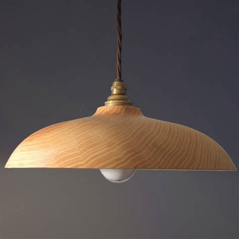 hygge wooden ceiling pendant light by orinoko design