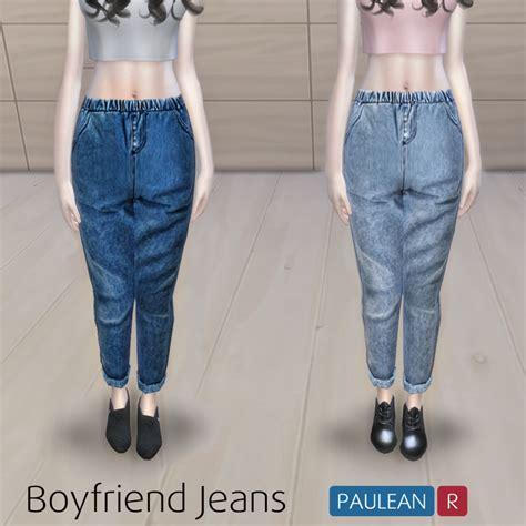sims 4 jeans my sims 4 blog boyfriend jeans for teen elder females