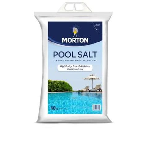 Where Can I Use My Morton S Gift Card - morton salt 40 lb pool salt 3460 the home depot