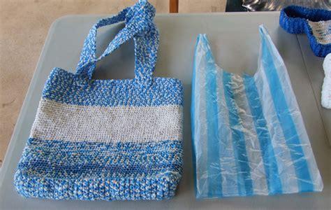 tejer bolsas sencilla a ganchillo reciclado pr 225 cticos tejidos con bolsas de pl 225 stico utimujer