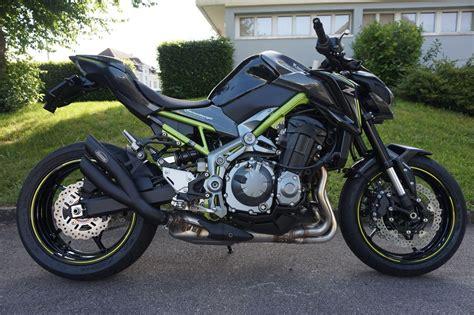 Motorrad Auspuff Kawasaki by Motorrad Occasion Kaufen Kawasaki Z 900 Abs Hurric Auspuff