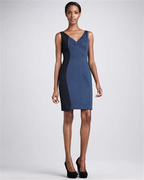 Brenda Dress elie tahari brenda colorblock dress