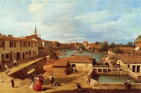 oscura canaletto dolo on the brenta canaletto wikiart org