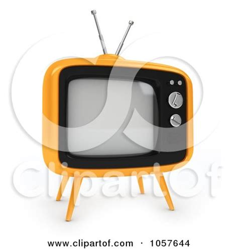 Small Tv Box Yellow royalty free 3d illustrations by bnp design studio page 14