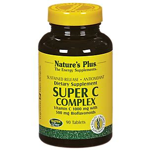C Complex Natures Plus Vitamin C 1000 Mg Isi 60 product image for c complex sustained release 1000