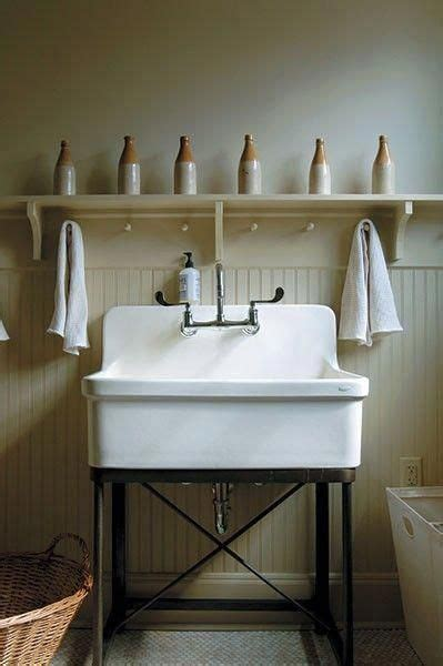 gilford    wall mounted service sink laundry room