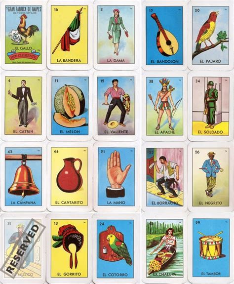 Mexican Chalupa Card Template by Be A Loteria Card On The Front