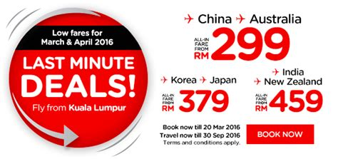 airasia nz airasia promotions march 2016