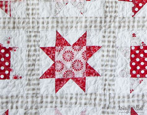 Sawtooth Quilt Pattern by Simple Sawtooth Quilt Pattern Honeybear