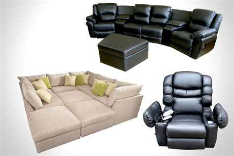 home cinema sofa bed cineak intimo fortuny luxury home home theater sofa bed pu leather home theater seats