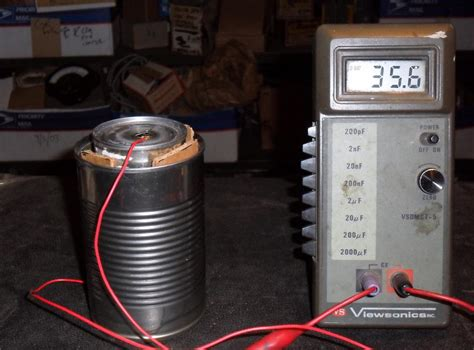 a cylindrical capacitor consists of a wire that has a radius r1 home made cylindrical capacitors leedsradio