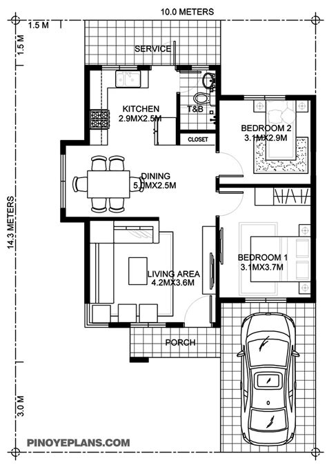 simple 2 bedroom house plans wanda simple 2 bedroom house with wall eplans