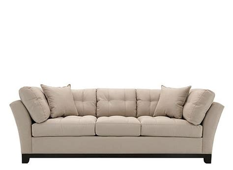home metropolis microfiber sofa sofa home lusso taupe leather sofa
