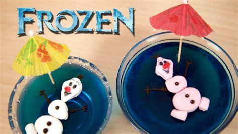 molde mediano para hacer gelatinas de olaf frozen disney 45 00 postre gelatina olaf de frozen y su novia ola youtube