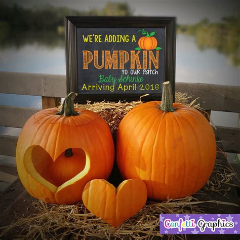 we re adding a pumpkin to our patch fall october november