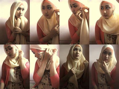 tutorial hijab pashmina satin ala dian pelangi hijab tutorial dian pelangi