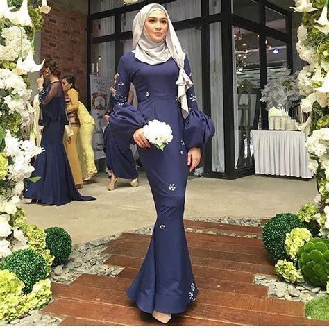 Baju Pesta Slim Duyung bak putri duyung ini 7 gaya mermaid dress buat hijabers