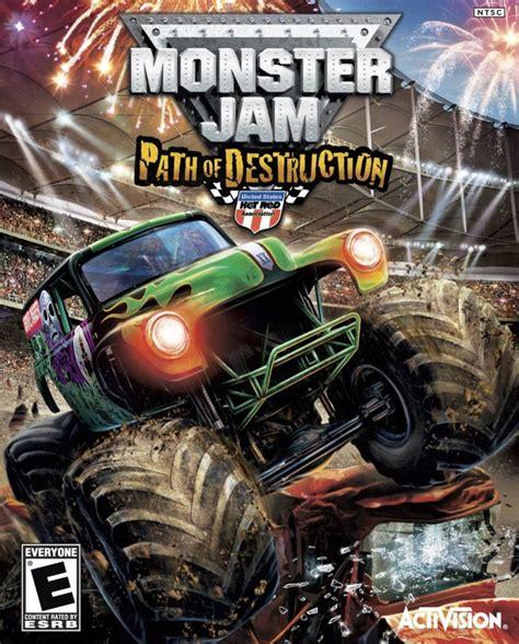 monster truck jam games monster jam path of destruction gamespot