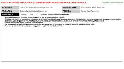 Resume Application Passport Windows Iis Application Administrator Resumes