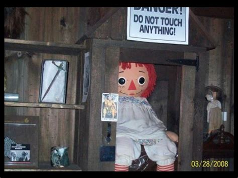 annabelle doll in london facts about annabelle the doll in the horror