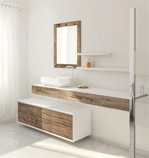 Modern Bathroom Furniture by Beautiful Weathered Wood Bathroom Furniture Cer Rv