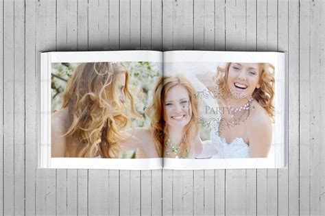 indesign wedding album templates square wedding photo album template by dogmadesign