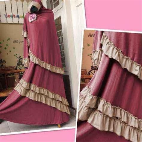 Gamis Syari Real Pict 3 gamis muzzie bergo busui y822 model baju muslim syari