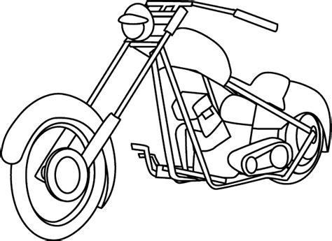 motorcycle coloring pages coloring town