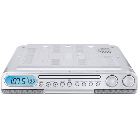 under kitchen cabinet radio cd player gpx kc218s under cabinet am fm cd player sears outlet