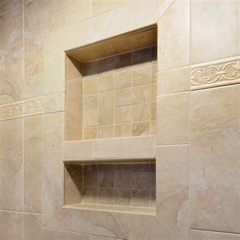 bathroom wall niche laticrete hydro ban shower wall niche contractors direct