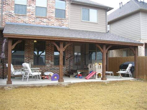 Sheds And Patios by Lewisville Arbors Patio Covers Impact Landscapes