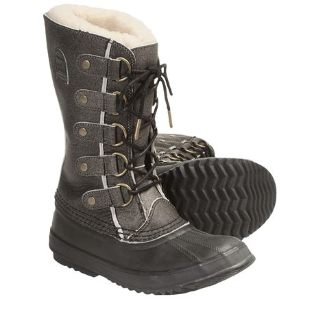 winter boots for sorel joan of arctic reserve nm winter pac boots