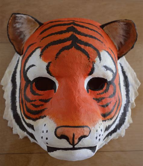 How To Make A Tiger Mask Out Of Paper - tiger mask by k milla on deviantart