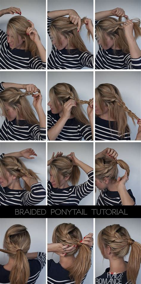 diy hairstyles ponytail 12 easy diy hairstyles that will not take you more than 5