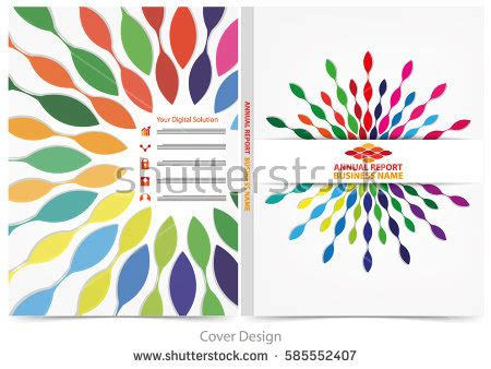 annual report cover design stock images royalty free