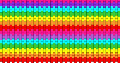 what pattern is the rainbow rainbow purse front and back bead pattern peyote bead