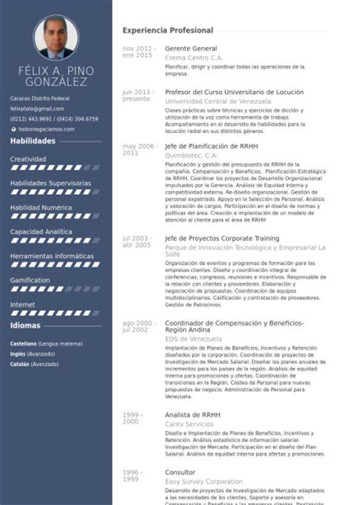 Modelo Curriculum Gerente General Gerente General Ejemplo De Curr 237 Culum Base De Datos De Visualcv Muestras De Curr 237 Culos