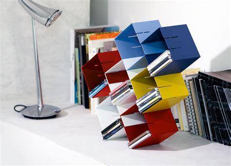 porta cd da tavolo cub 236 corde architetti